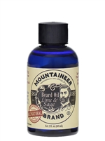 Mountaineer | Beard Oil - Lime & Sage