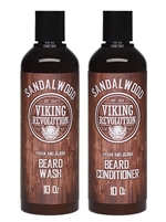 Viking Revolution | Shampoo & Conditioner - Sandalwood