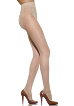 Silkies Ultra Soft Dimensions Lacy Hi-Cut Panty