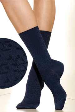 Silkies Laurel Microfiber Crew Socks