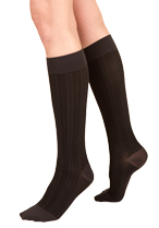 Silkies Compression Herringbone Trouser Socks (15-20 mmHg)