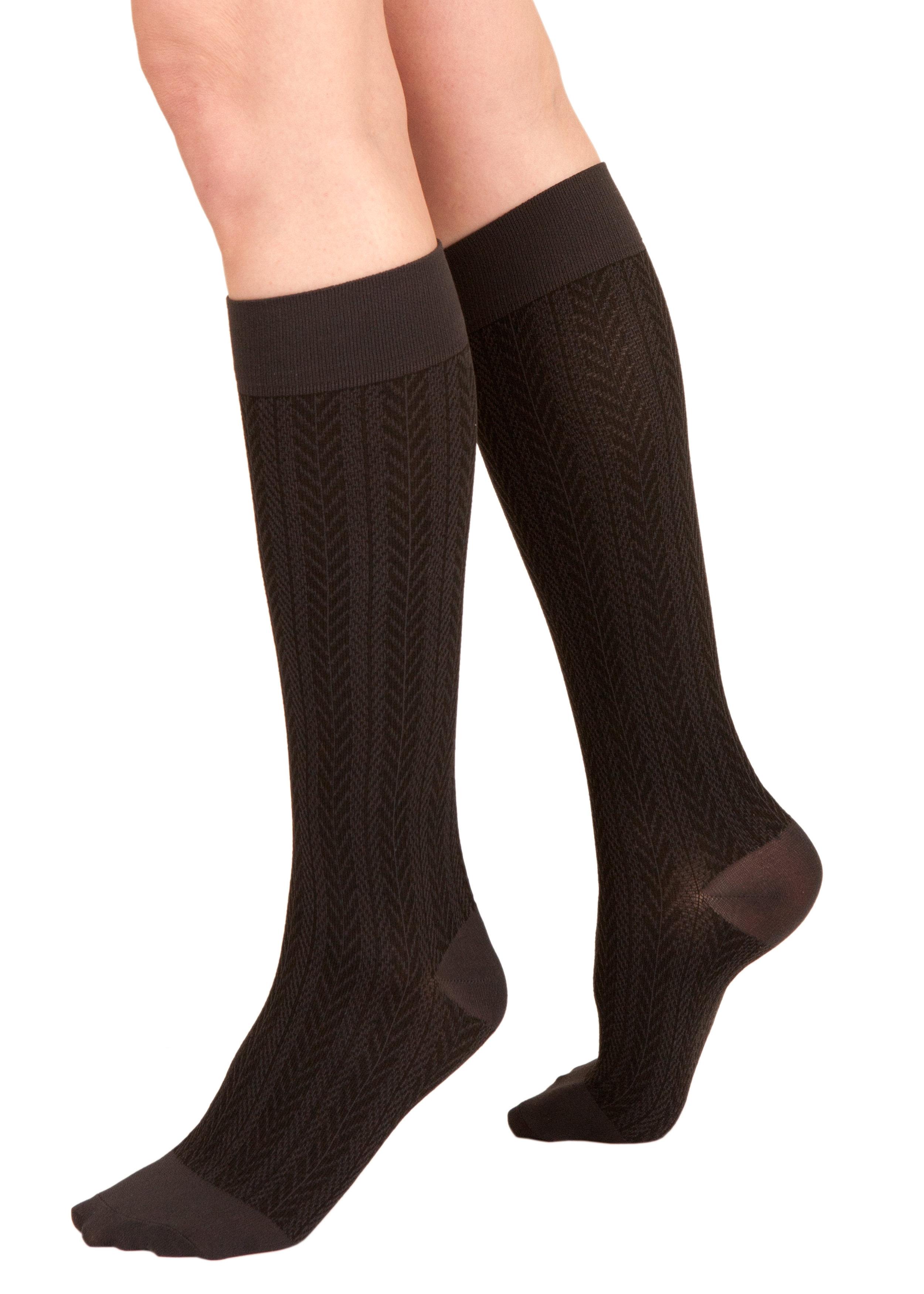 8f597eb45 Silkies Compression Herringbone Trouser Socks (15-20 mmHg)