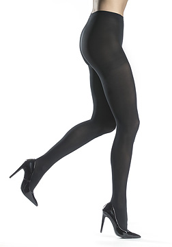 Silkies Microfiber Compression Tights (8-15 mmHg)