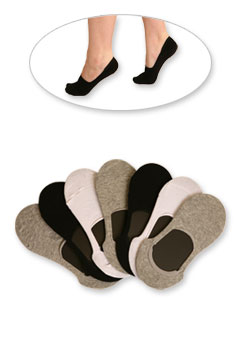 High-Cut Shoe Liners (7-pair pack)