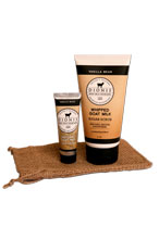 Vanilla Bean Whipped Sugar Scrub and Hand Cream Gift Set