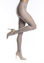 Sheer Diamond Control Top Tights