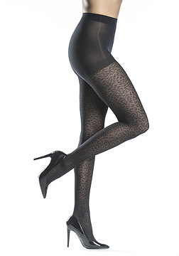 Silkies Cheetah Control Top Tights