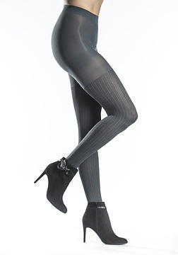 Silkies Herringbone Control Top Tights