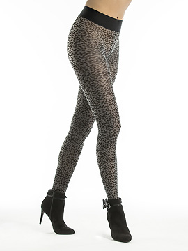 Silkies Leopard Tights