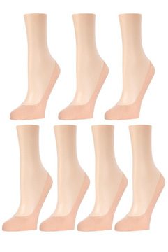 Low-Cut Cotton Foot Liner - 7-Pair Pack