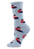 Snowman Cozy Socks