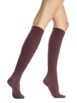 Silkies Compression Polka Dot Trouser Socks (15-20 mmHg)