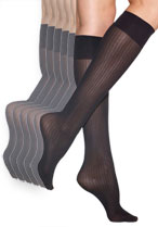 Ribbed Trouser Socks (6- Pair Pack)