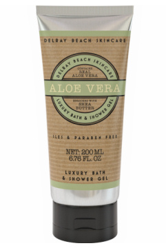 Delray Beach Luxury Bath & Shower Gel – Aloe Vera