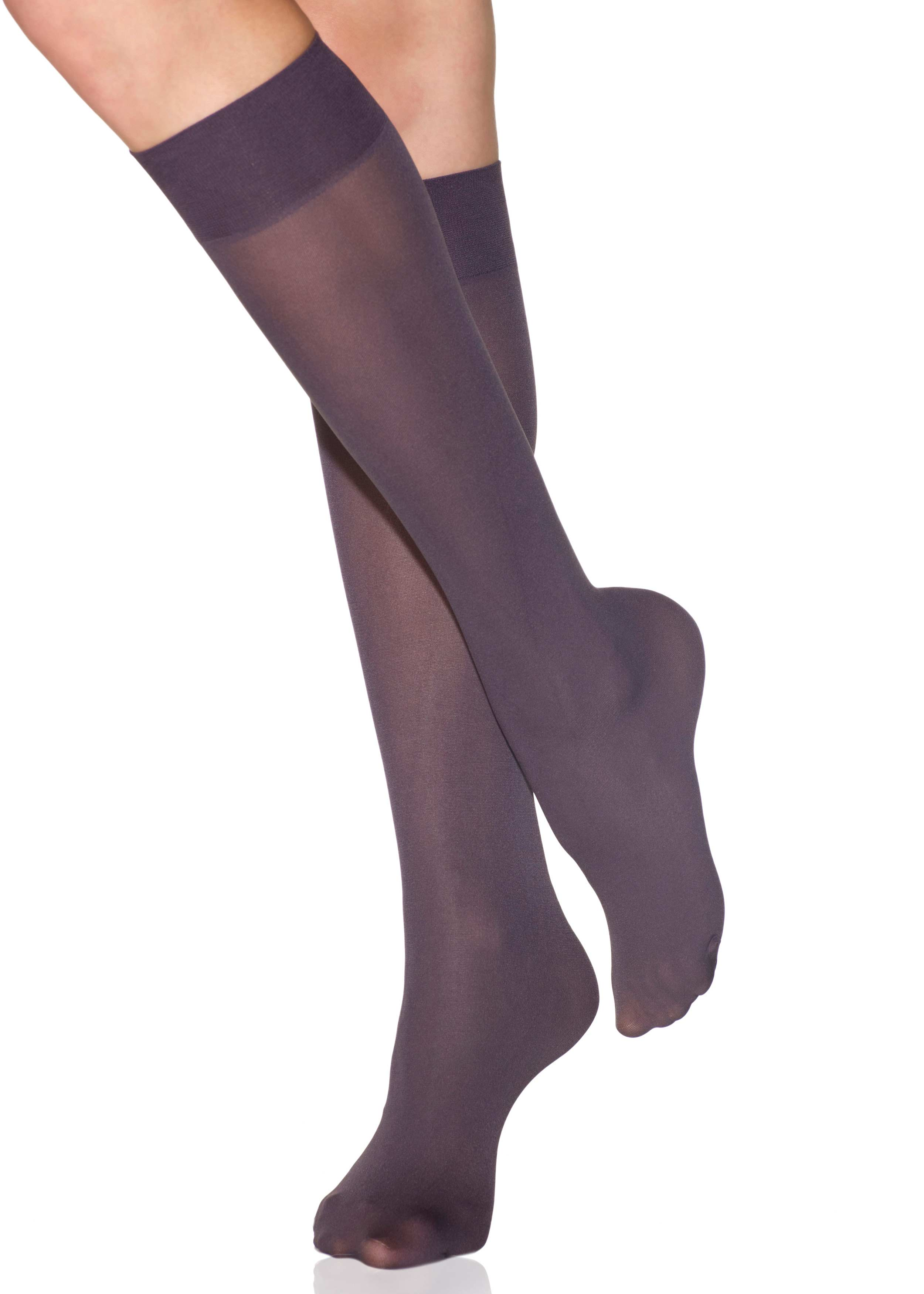 2 Pairs Perfect Socks Opaque Trouser Socks Clothing, Shoes & Accessories  Hosiery & Socks