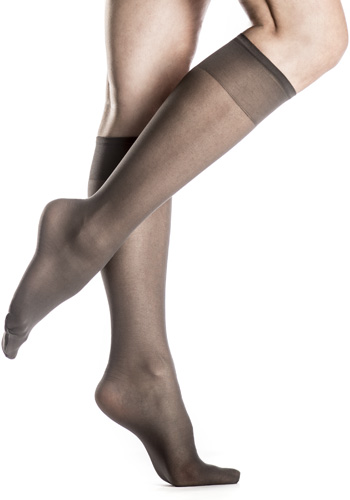 Silkies Sheer ReNu Support Knee-Hi's (2-Pair Pack)