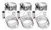 Torx Racing Spec CP Pistons Sea Doo Standard Size Piston Set 100mm 8.4.1