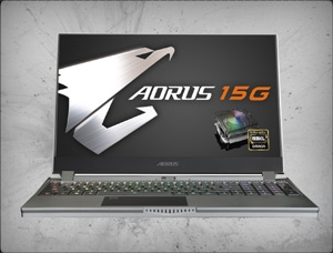 AORUS 15G KB-8US2130MH 240hz, nVidia RTX 2060 6GB GDDR6, 10th Gen Intel Core i7-10875H