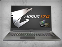 AORUS 17G YB-8US2130MP 240Hz, nVidia RTX 2080 Super 8GB GDDR6, 10th Gen Intel Core i7-10875H