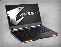 AORUS 17X YB-9US2452MP 240Hz, nVidia RTX 2080 Super 8GB GDDR6, 10th Gen Intel Core i9-10980HK