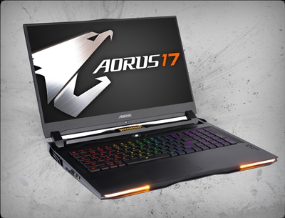 AORUS 17X XB-8US2150MP 240Hz, nVidia RTX 2070 Super 8GB GDDR6, 10th Gen Intel Core i7-10875H