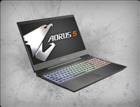 AORUS 5 KB-7US1130SH 144hz IPS, nVidia RTX 2060 6GB GDDR6, 10th Gen Intel Core i7-10750H