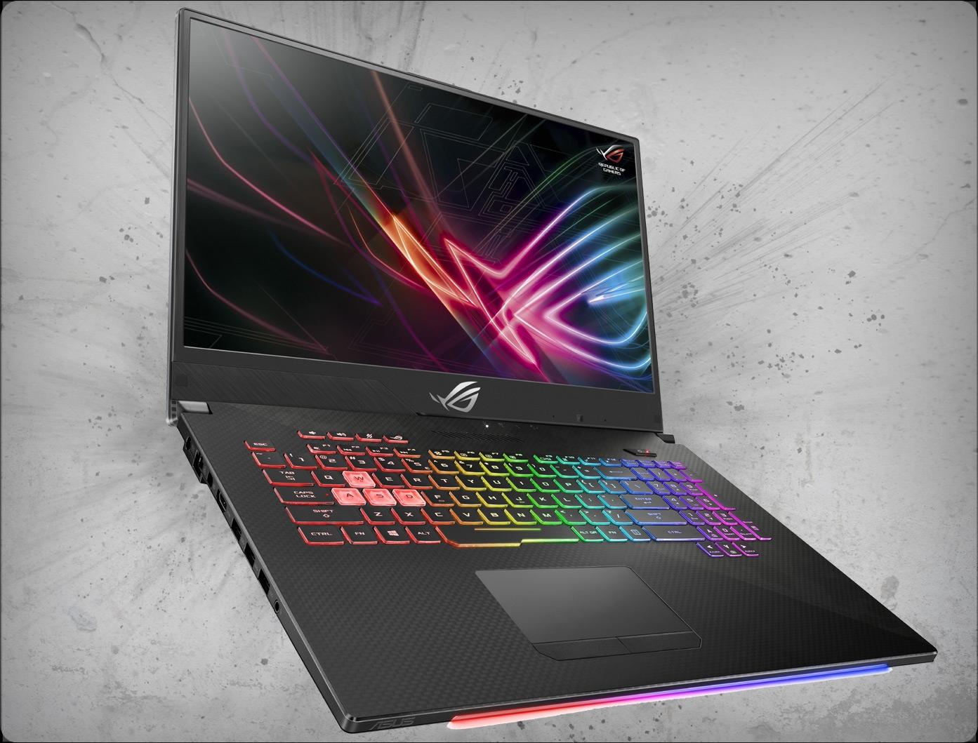Asus ROG Strix Scar II GL704GM-DH74 144Hz nVidia GTX 1060 6GB, 8th Gen  Intel Core i7-8750H