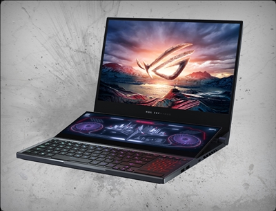 Asus Zephyrus Duo 15 GX550LXS-XS96 300Hz G-Sync, nVidia RTX 2080 Super 8GB, 10th Gen Intel Core i9-10980HK