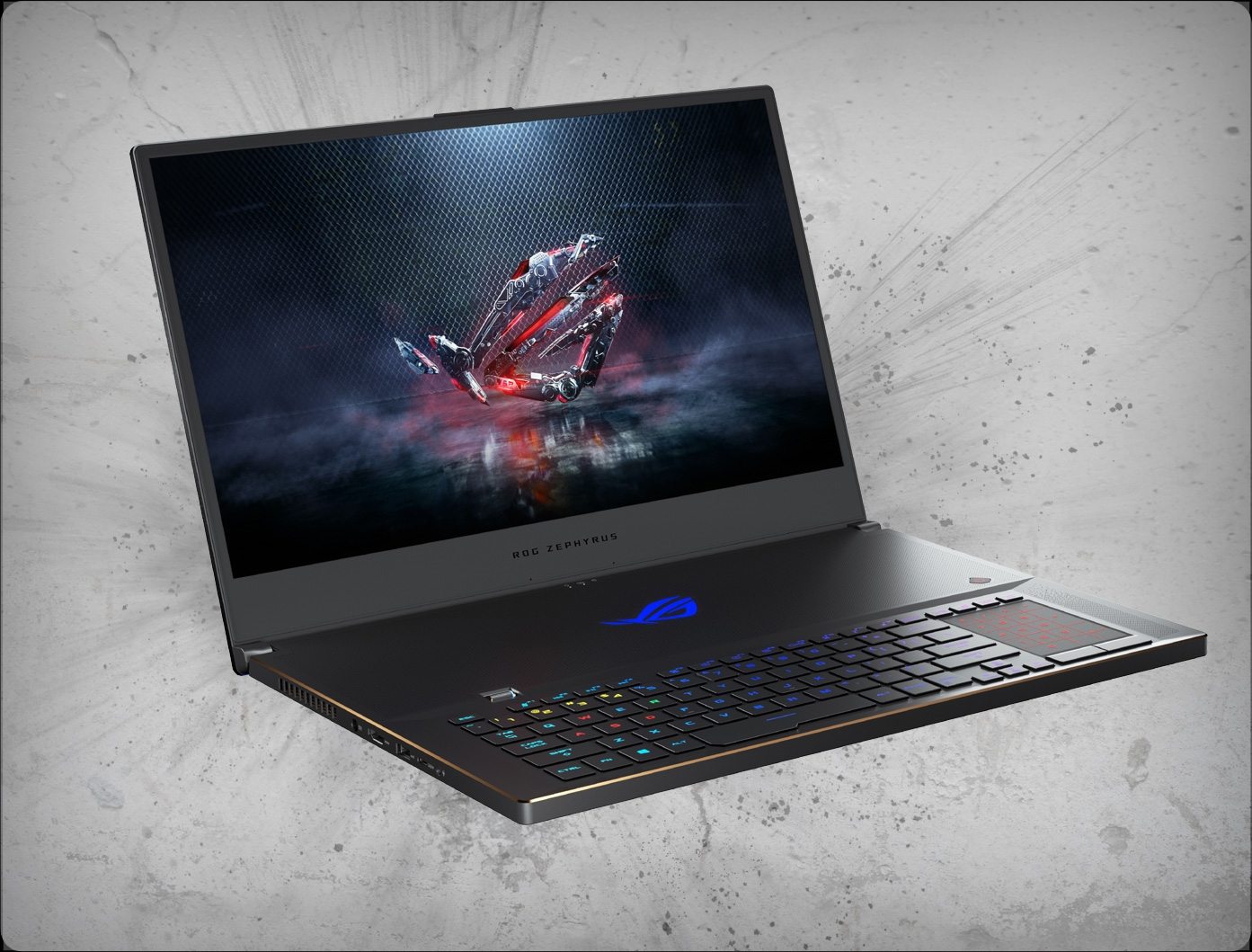 Asus ROG Zephyrus S GX701GW-DB76 144Hz nVidia RTX 2070 8GB, 9th Gen Intel  Core i7-9750H