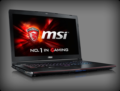 MSI GE72VR Apache Pro-418 nVidia GTX 1060, 7th Gen Intel Core i7