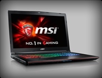 MSI GE72VR Apache Pro 010 GTX 1060 GDDR5 Gaming laptop