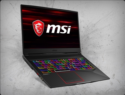 MSI GE75 Raider-283 nVidia RTX 2080 GPU 8GB GDDR6, 9th Gen Intel Core i7
