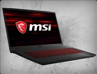MSI GF75 THIN 9SC-278 nVidia GTX 1660Ti GPU 6GB GDDR6, 9th Gen Intel Coffee Lake
