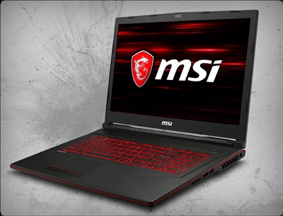 MSI GL73 8SE-028 nVidia RTX 2060 GPU 6GB GDDR6, 8th Gen Intel Core i5