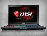 MSI GP62X Leopard-1045 nVidia GTX 1050Ti, 7th Gen Intel Core i7