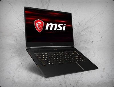 MSI GS65 Stealth-666 240Hz, nVidia RTX 2080 GPU 8GB GDDR6, 9th Gen Intel Coffee Lake