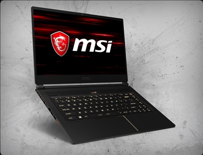 MSI GS65 Stealth THIN-051 nVidia GTX 1060 GPU 6GB GDDR5, 8th Gen Intel Coffee Lake