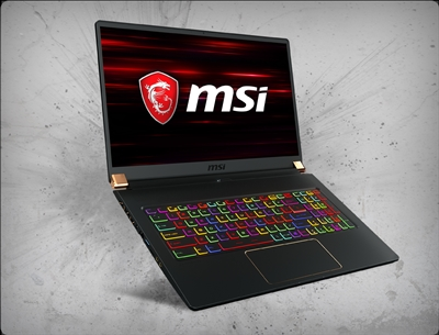 MSI GS75 Stealth-248 nVidia RTX 2070 GPU 8GB GDDR6, 9th Gen Intel Coffee Lake