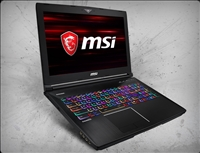 MSI GT63 TITAN-033 nVidia RTX 2070 GPU 8GB GDDR6, 8th Gen Intel Coffee Lake