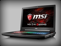 MSI GT73VR TITAN Pro 4K with nVidia Pascal GTX 1080, 7th Gen Intel Kaby Lake Core i7-7820HK