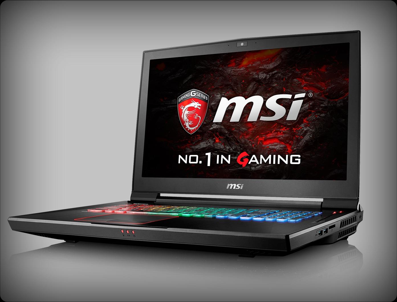 MSI GT73VR TITAN 4K SLI Driver for Windows 7