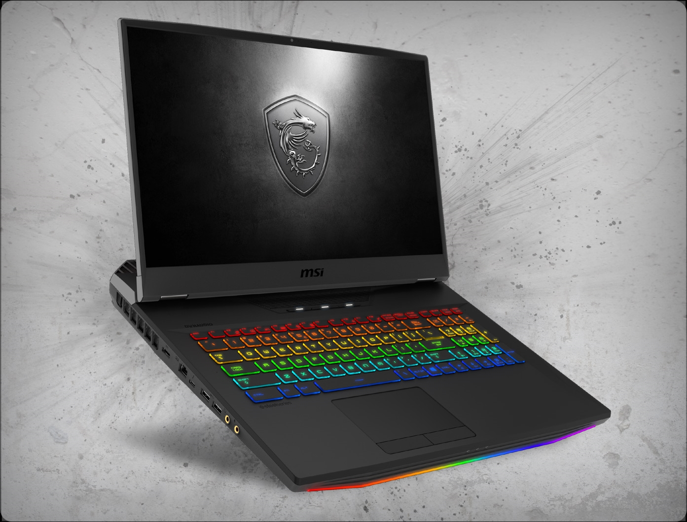 MSI GT76 TITAN DT-090 240Hz nVidia RTX 2080 Desktop GPU 8GB GDDR6, 9th Gen  Intel i7-9700K Desktop CPU