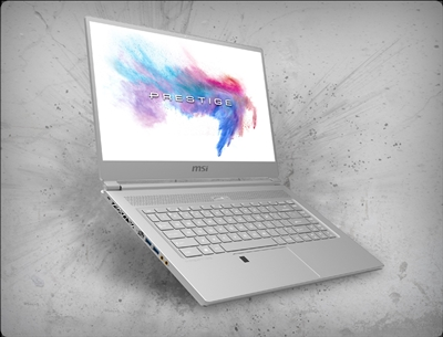 MSI P65 Creator-654 4K, nVidia RTX 2070 GPU 8GB GDDR6, 9th Gen Intel Core i9-9880H