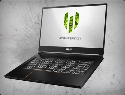 MSI WS65 9TK-687, nVidia Quadro RTX 3000 GPU 6GB GDDR5, 9th Gen Intel Core i9-9980H