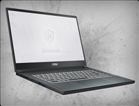 MSI WS66 10TKT-080 Touchscreen, nVidia Quadro RTX 3000 GPU 6GB GDDR6, 10th Gen Intel Core i7-18075H