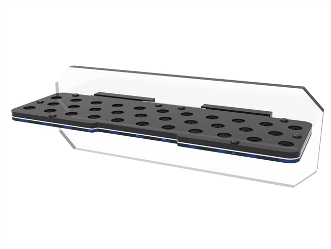 Fiji Cube 32 Holes Magnetic Coral Frag Rack with Plug Locking System