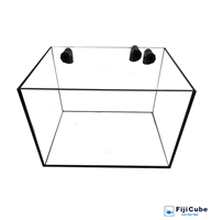 10G Refugium Glass Tank - Fiji Cube