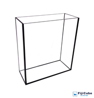 10G Water Reservoir Glass Tank - Fiji Cube (Clearance)