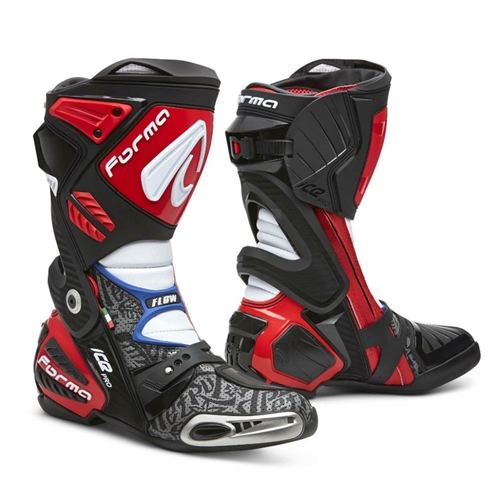 FORMA - ICE PRO FLOW - Danilo Petrucci Race Replica  / best mobility, ease of entry, solid torsion control to protect ankle
