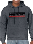 Men's Sweatshirt Hoodie - HEROIC Road Racing Leathers